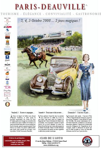 Paris Deauville Vintage Car Rally
