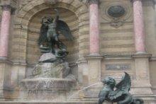 St. Michel Fountain Paris