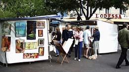 Edgar Quinet Market Paris