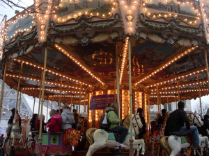 Carousels in Paris France