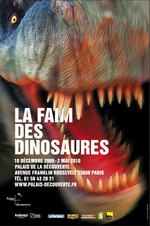 Dinosaur Exhibition Paris