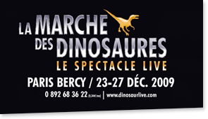 March of the Dinosaurs Paris