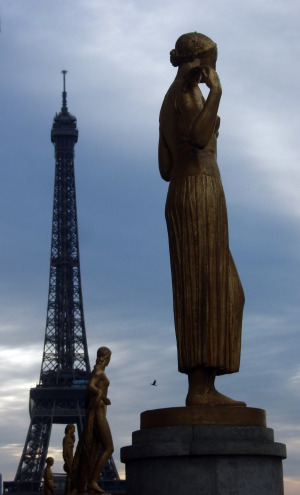 Eiffel Tower - View from Trocadero