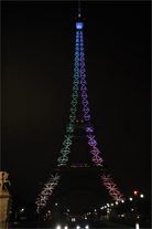 Eiffel Tower 120 Year Celebrations
