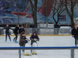 ice skating paris Montparnasse
