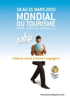 Paris Travel Show MAP monde a paris