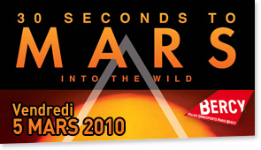 30 Seconds to Mars Concert Paris