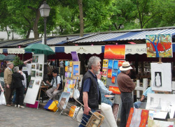 Place du Tertre Montmartre