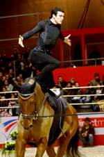 Paris Horse Show - Valting Competition
