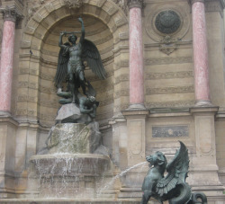St. Michel Fountain Paris