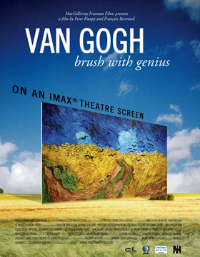 Van Gogh at the IMAx in Paris
