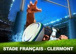 STADE FRANCAIS PARIS - CLERMONT Rugby Paris