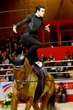 Paris Horse Show - Valting Competition