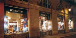 W.H. Smith Book Shop Paris